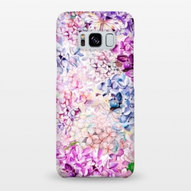 Galaxy S8+  Purple Lilacs and Hydrangea by Utart