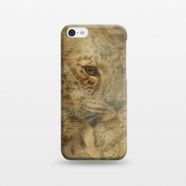 iPhone 5C  Cheetah Vintage Style by Andrea Haase