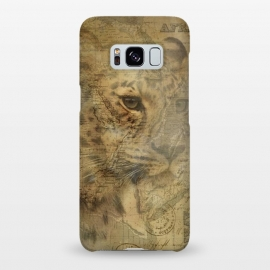 Galaxy S8+  Cheetah Vintage Style by Andrea Haase