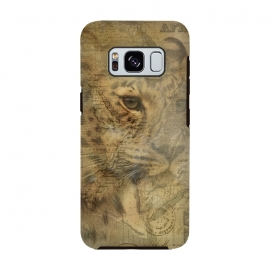 Galaxy S8  Cheetah Vintage Style by Andrea Haase