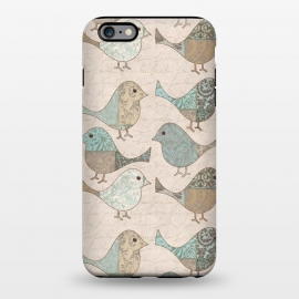 iPhone 6/6s plus  Cute Patchwork Birds by Andrea Haase