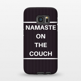 Galaxy S7  namaste on the couch by MALLIKA