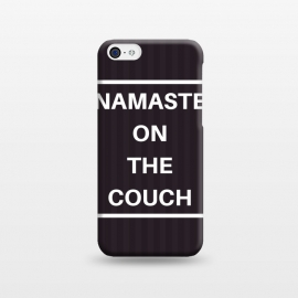 iPhone 5C  namaste on the couch by MALLIKA