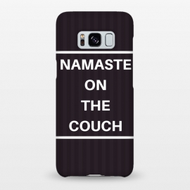 Galaxy S8+  namaste on the couch by MALLIKA