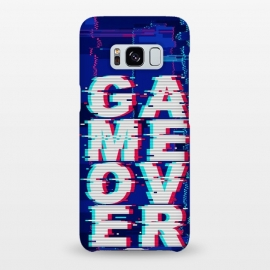 Galaxy S8+  Game Over Glitch Text Distorted by BluedarkArt