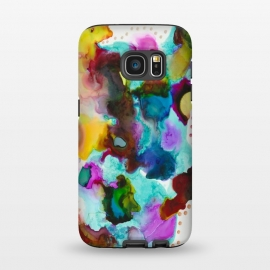 Galaxy S7  Alcohol ink 4 by Haris Kavalla