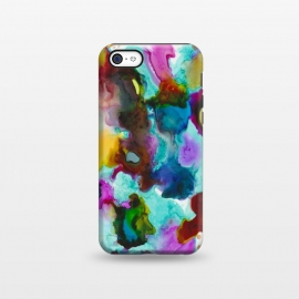 iPhone 5C  Alcohol ink 4 by Haris Kavalla