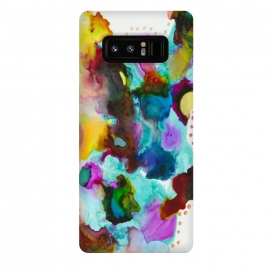 Galaxy Note 8  Alcohol ink 4 by Haris Kavalla