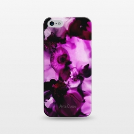 iPhone 5/5E/5s  Alcohol ink 5 by Haris Kavalla