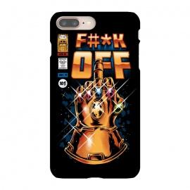 iPhone 8/7 plus  Infinity F#*K by  (Thanos, avengers, vingadores, comics,  comics book, villain, retro, cover, vintage)