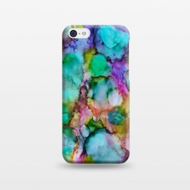 iPhone 5C  Alcohol ink 8 by Haris Kavalla