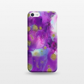 iPhone 5C  Alcohol ink 9 by Haris Kavalla