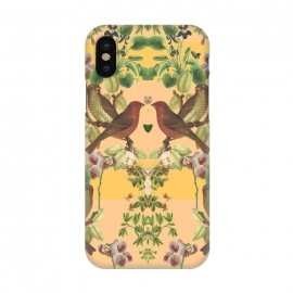 iPhone X  Vintage Botanic by