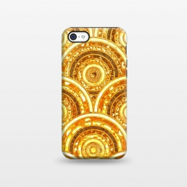 iPhone 5C  aztec gold by Utart