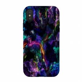 iPhone Xs / X  Colorful marble by Haris Kavalla (marble,colorful marble,unique marble,modern marble,purple marble,ultra violet,haroulita)