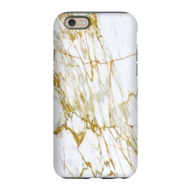 iPhone 6/6s  white gold marble by Haris Kavalla