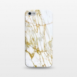 iPhone 5/5E/5s  white gold marble by Haris Kavalla