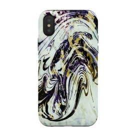 iPhone Xs / X  artistic marble by Haris Kavalla (artistic marble,marble,unique marble,modern marble,waves,wavy marble,ink marble)