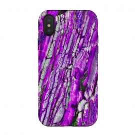 iPhone Xs / X  ultra violet texture marble by Haris Kavalla