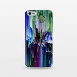 iPhone 5/5E/5s  glitchy rain i by