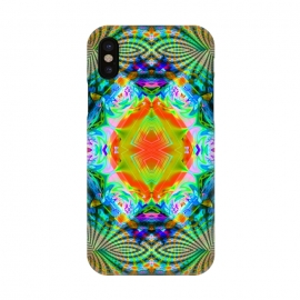 iPhone X  Kaleidoscope mandala ii by Haris Kavalla