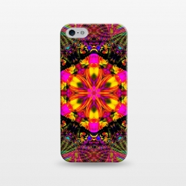 iPhone 5/5E/5s  Kaleidoscope mandala iii by Haris Kavalla