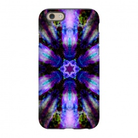 iPhone 6/6s  Ultra violet ink mandala by Haris Kavalla
