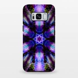 Galaxy S8+  Ultra violet ink mandala by Haris Kavalla