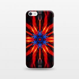 iPhone 5C  fire mandala by Haris Kavalla