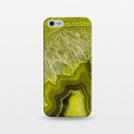 iPhone 5/5E/5s  Green Agate Geode by Utart