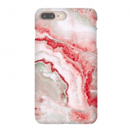 Coral Red Veined Agate by Utart