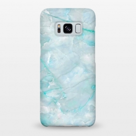 Galaxy S8+  Light Blue Veined Agate by Utart