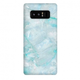 Galaxy Note 8  Light Blue Veined Agate by Utart