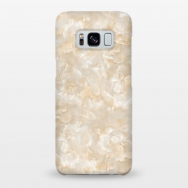 Galaxy S8+  Creme Mother of Pearl Texture by Utart
