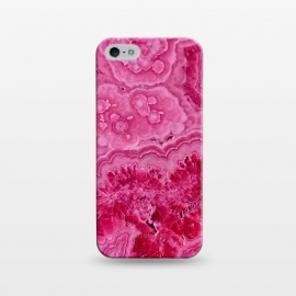 iPhone 5/5E/5s  Strong Pink Agate  by Utart
