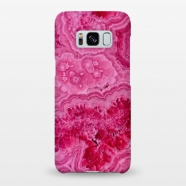 Galaxy S8+  Strong Pink Agate  by Utart