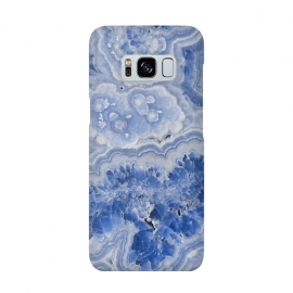 Galaxy S8  Light Blue Chrystal Agate by Utart