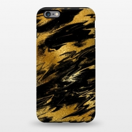 iPhone 6/6s plus  Black and Gold Marble by Utart