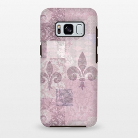 Galaxy S8+  Romantic Vintage Pattern Soft Pink by Andrea Haase