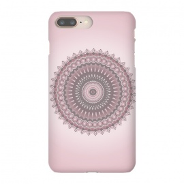 iPhone 8/7 plus  Soft Pink Mandala Design by