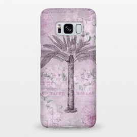 Galaxy S8+  Vintage Palm Tree Art by Andrea Haase
