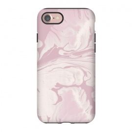 iPhone 8/7  Pink Marbled Wet Paint by Andrea Haase