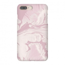 Pink Marbled Wet Paint by Andrea Haase
