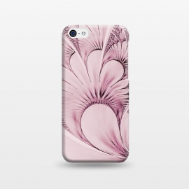 iPhone 5C  Pink Flourish Fractal by Andrea Haase