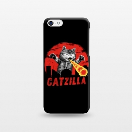 iPhone 5C  Catzilla by Vincent Patrick Trinidad
