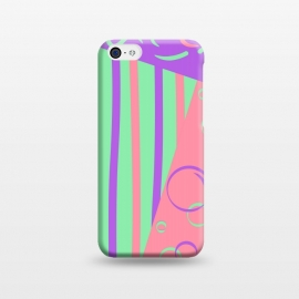 iPhone 5C  PINK ABSTRACT PATTERN by MALLIKA
