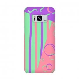Galaxy S8  PINK ABSTRACT PATTERN by MALLIKA