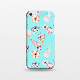 iPhone 5C  Flower Ice Cream Cones by Utart