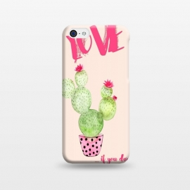 iPhone 5C  Love if you dare- Cactus by Utart