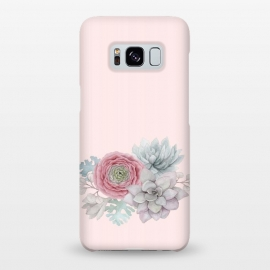 Galaxy S8+  Boho - Cactus and flower by Utart